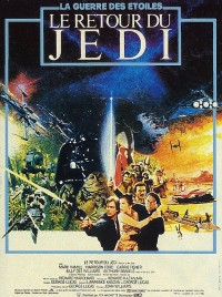 affiche  Star Wars Le Retour du Jedi 1847