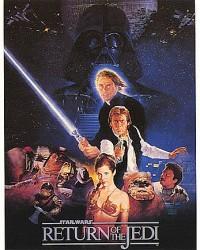 Poster Star Wars Le Retour du Jedi 1848
