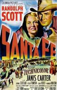 affiche  La Bagarre de Santa Fe 185391