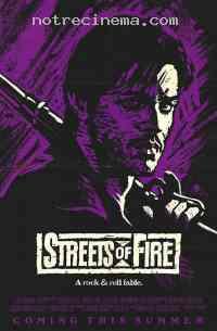 affiche  Les Rues de feu 189129