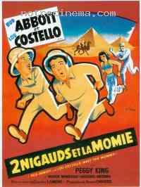 affiche  Deux nigauds et la momie 18925
