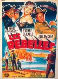 affiche  Les Rebelles 189691