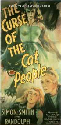 affiche  La Mal�diction des hommes-chats 197561