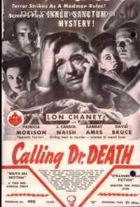 affiche  Calling Dr Death 197763