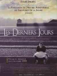 affiche  Les Derniers jours (Shoah) 199713
