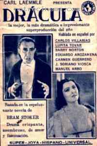affiche  Dracula 201672