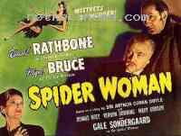 Poster Sherlock Holmes et la femme aux araign�es 203041
