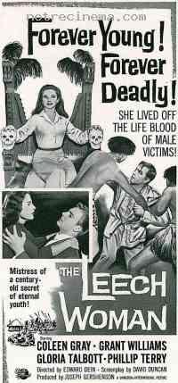 affiche  La Femme sangsue 203122