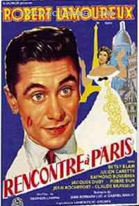 affiche  Rencontre à Paris 204044