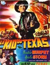 Poster Le Kid du Texas 205629