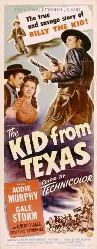 affiche  Le Kid du Texas 205630
