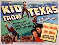 affiche  Le Kid du Texas 205631