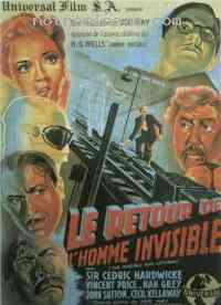 Poster Le Retour de l'homme invisible 206999