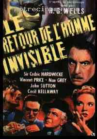 affiche  Le Retour de l'homme invisible 207000