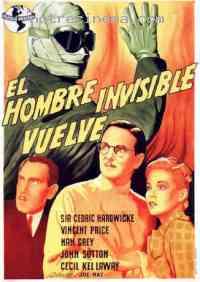 affiche  Le Retour de l'homme invisible 207004
