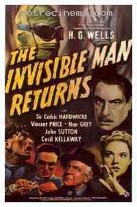Poster Le Retour de l'homme invisible 207007