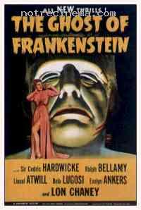 affiche  Le Spectre de Frankenstein 208454