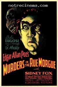 Poster Double assassinat dans la rue Morgue 213724