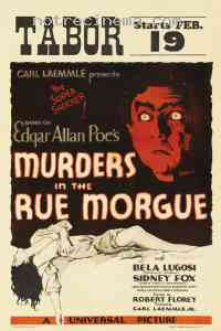 affiche  Double assassinat dans la rue Morgue 213725