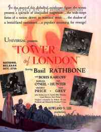 Poster La Tour de Londres 215060