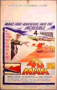 affiche  4D Man 217801