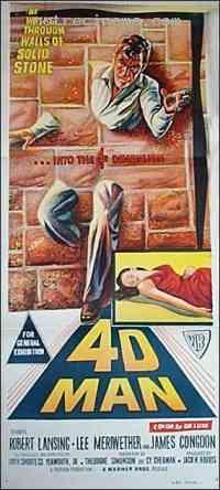 Poster 4D Man 217802