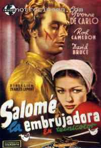 affiche  Les Amours de Salom� 221991