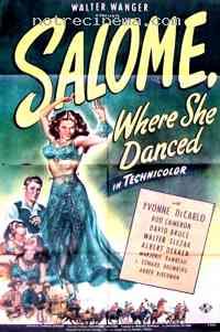 Poster Les Amours de Salomé 221993