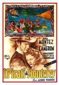 affiche  Les Pirates de Monterey 222199