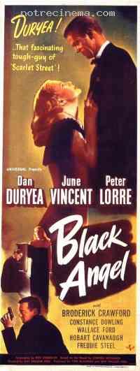 Poster L'Ange noir 223889