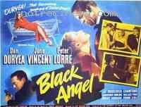 affiche  L'Ange noir 223890
