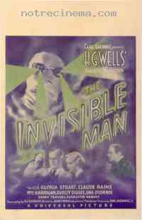 affiche  L'Homme invisible 229011