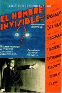 affiche  L'Homme invisible 229015
