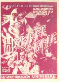 affiche  L'Homme invisible 229018