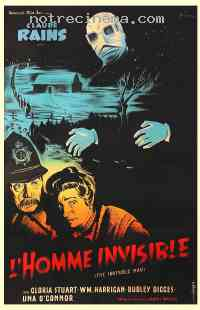 affiche  L'Homme invisible 229021