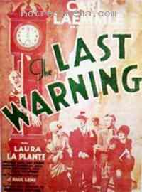 Poster Dernier avertissement 231244