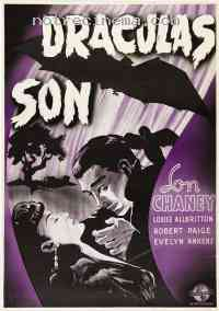affiche  Son of Dracula 231778