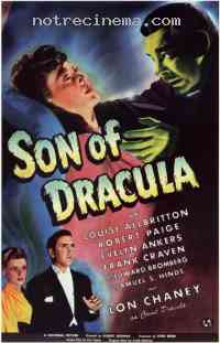 affiche  Son of Dracula 231779