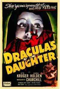 Poster La Fille de Dracula 231784