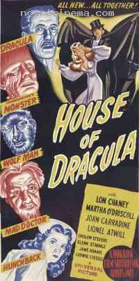 affiche  La Maison de Dracula 231995