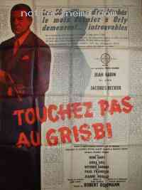 Poster Touchez pas au grisbi 233453
