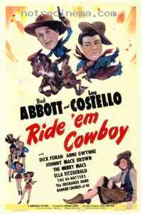Poster Deux nigauds cowboys 237876