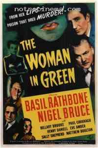 affiche  La Femme en vert 238231