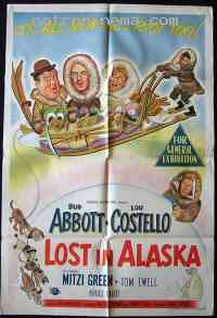 affiche  Deux nigauds en Alaska 240150