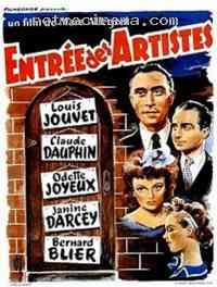 Poster Entrée des artistes 247403