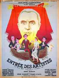 affiche  Entrée des artistes 247405
