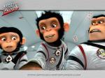 wallpaper  Les Chimpanz�s de l'espace 257266