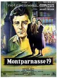 affiche  Montparnasse 19 257680