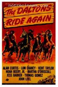 Poster Les Quatre bandits de Coffeyville 258797