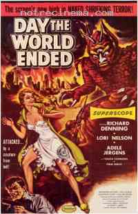 affiche  Day the world ended 261183
